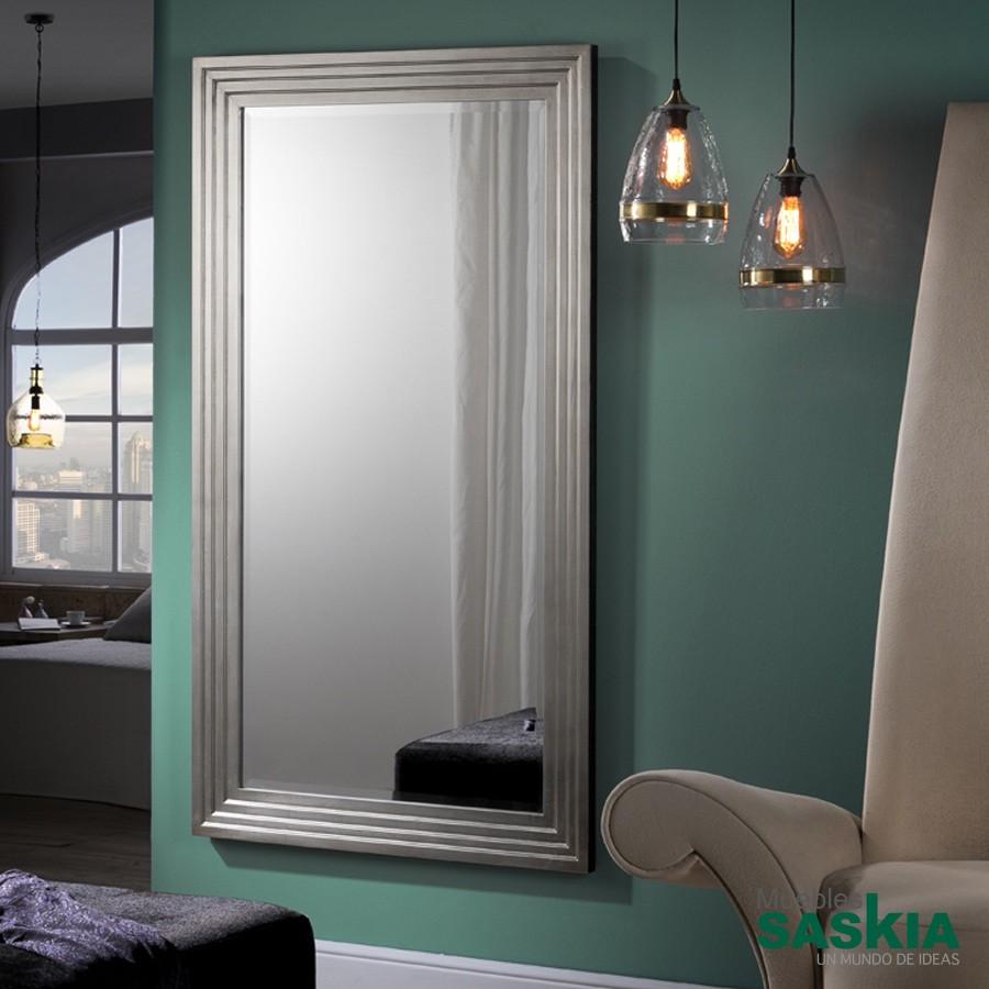 Espejo lineal rectangular