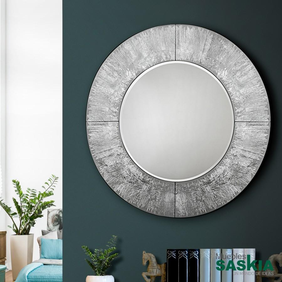 Espejo, Aurora plata