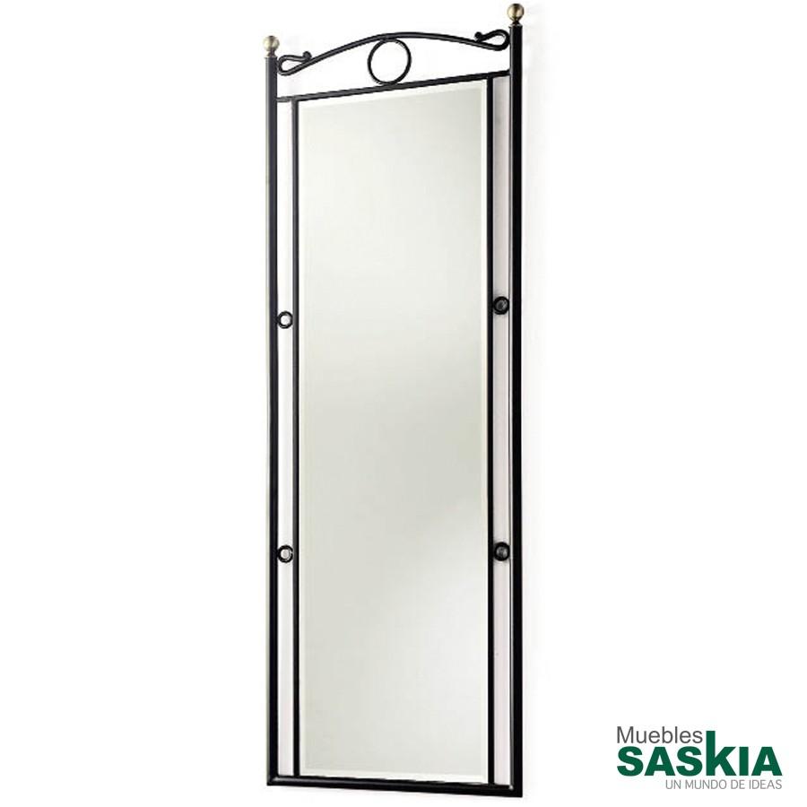 Espejo de forja vestidor