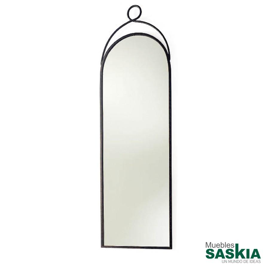 Espejo de forja vestidor para dormitorio