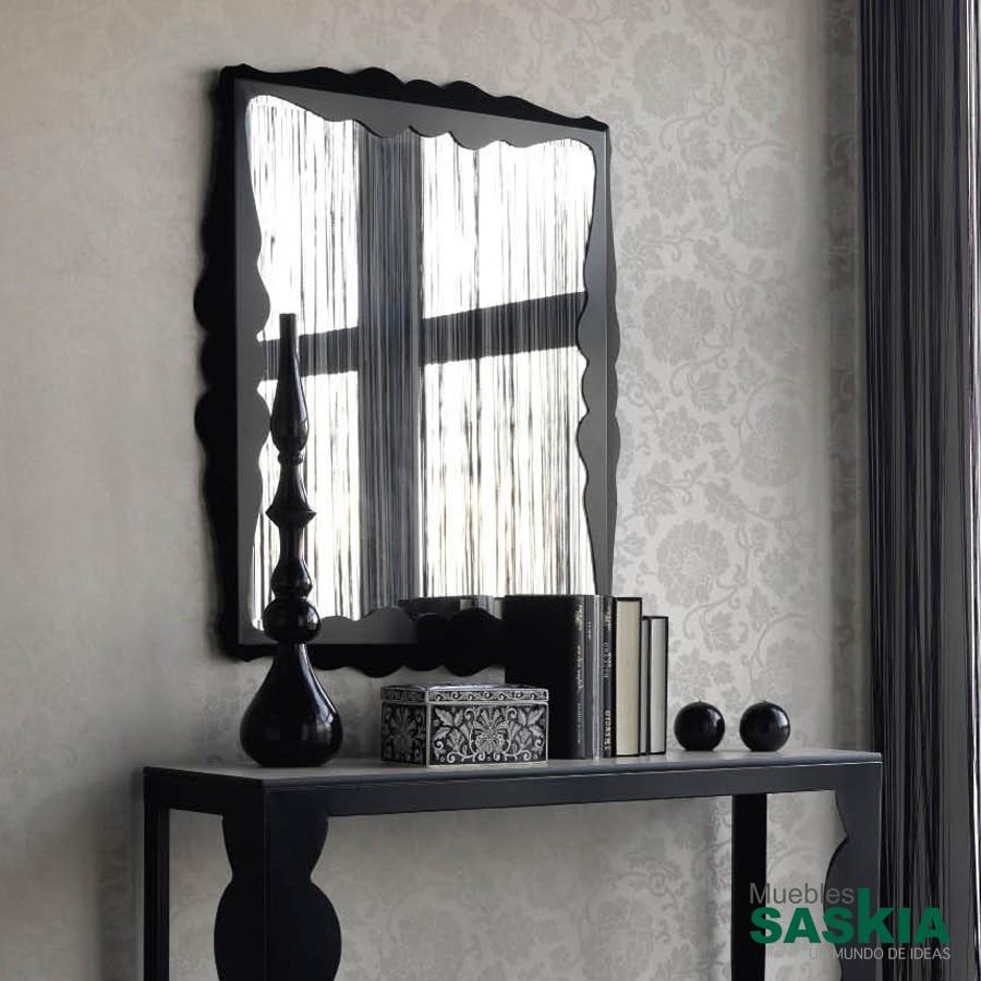 Espejo de vestidor, forja