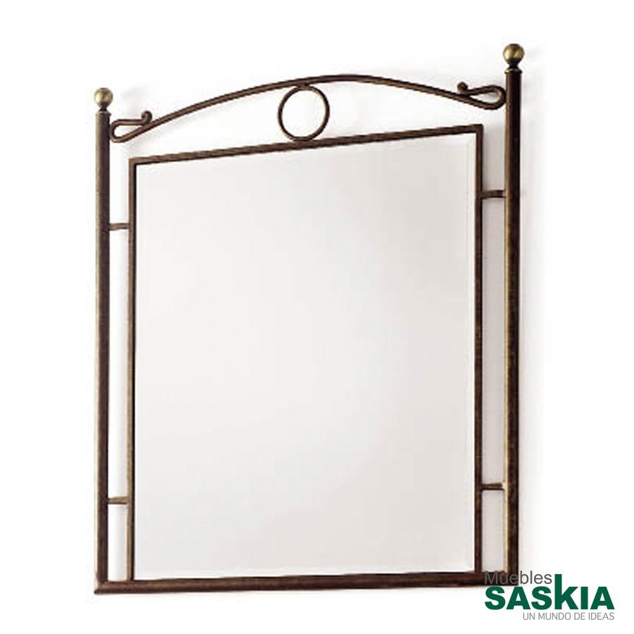 Espejo de forja Sofia