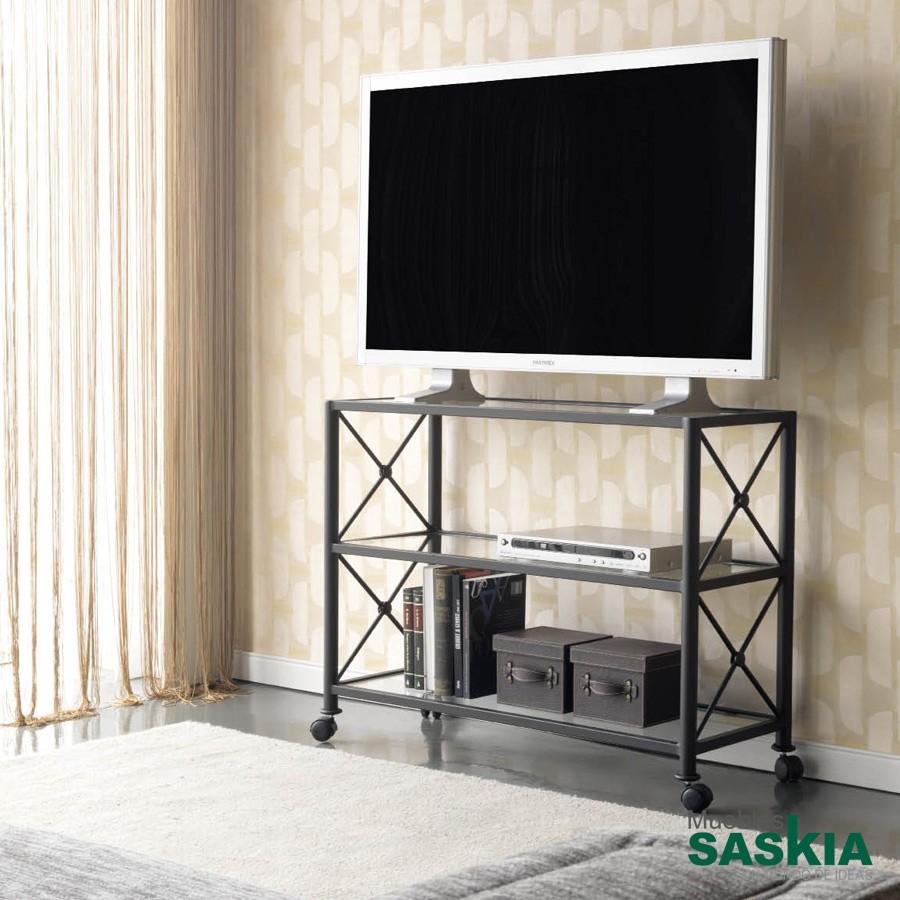 Mesa de TV de forja