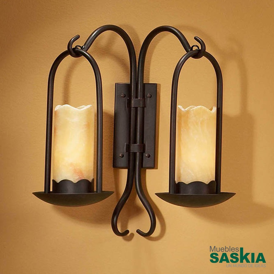 Lámpara de pared candela 2l