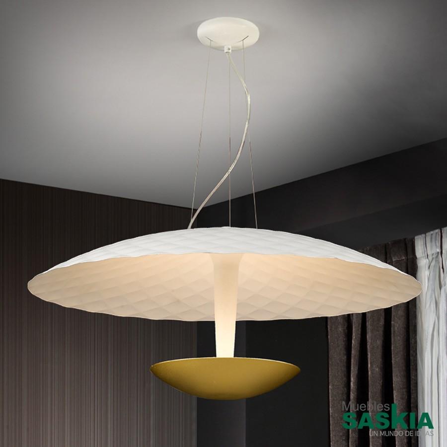 Lámparalaura.Oro 4g9 diámetro 55