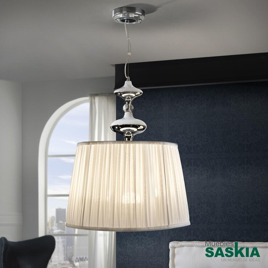 Lámpara 50diámetro oliver cromo