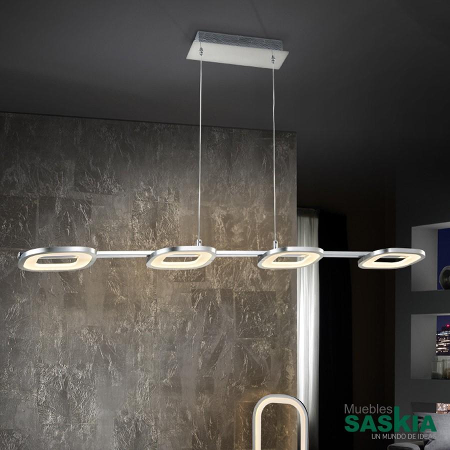 Lámpara ledorbita4l cromo