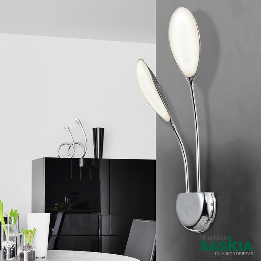 Aplique 2l led lucila