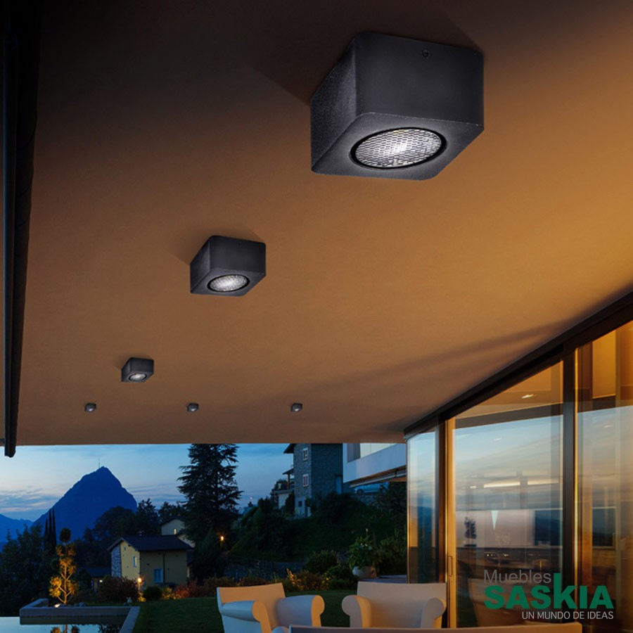 Foco led exterior gregal 8w