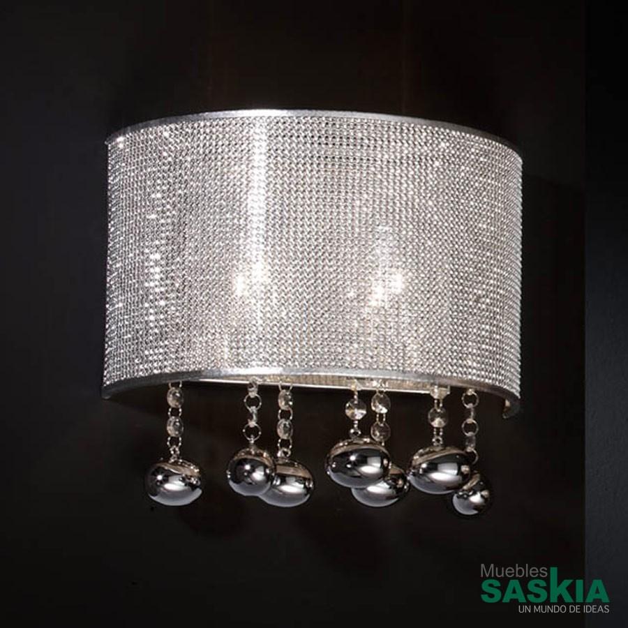 Lámpara de pared andromeda 2l