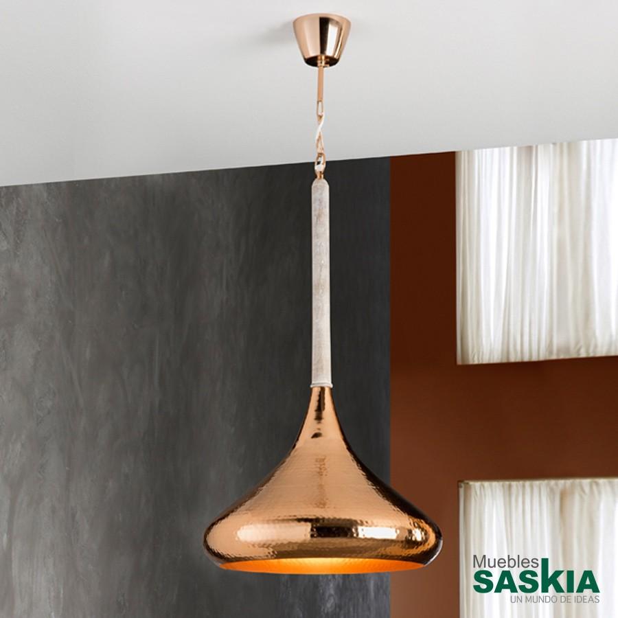 Lámpara colgante ishara diámetro 40 cobre