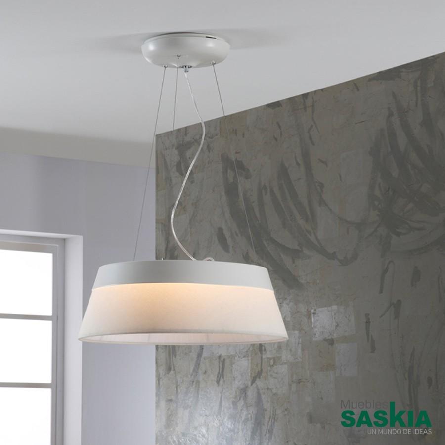 Lámpara colgante led swing blco diámetro 55