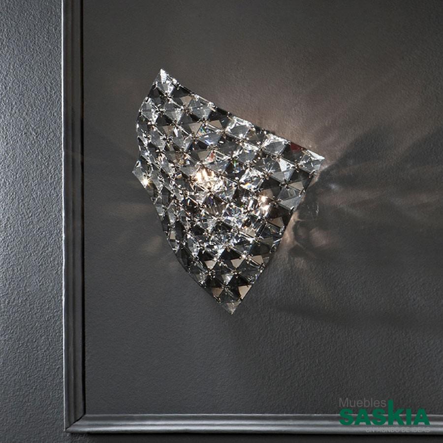 Lámpara de pared 1l saten