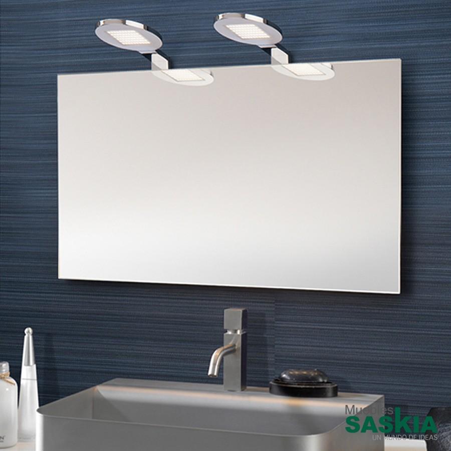 L mpara de pared led para espejos 628415 muebles saskia for Lamparas para espejos