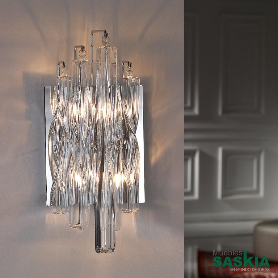 Lámpara de pared manacor 2l