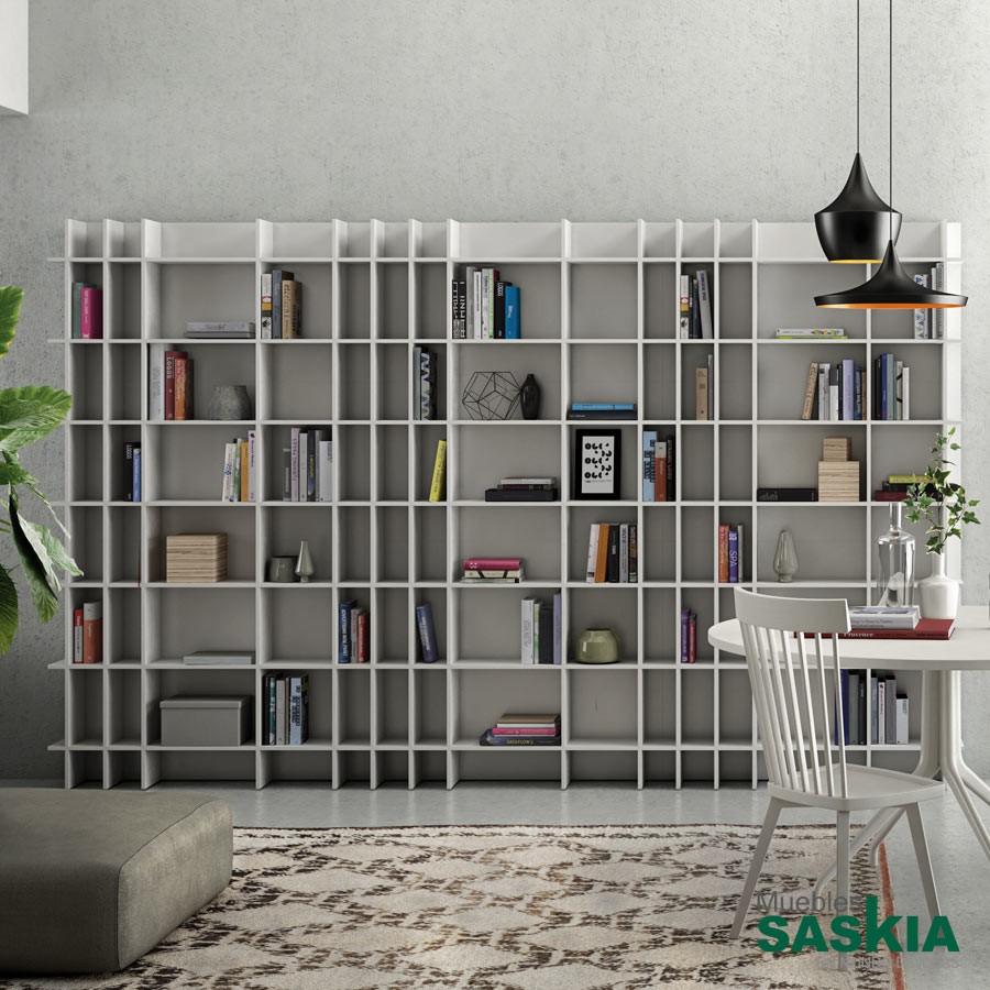 Librería moderna grande