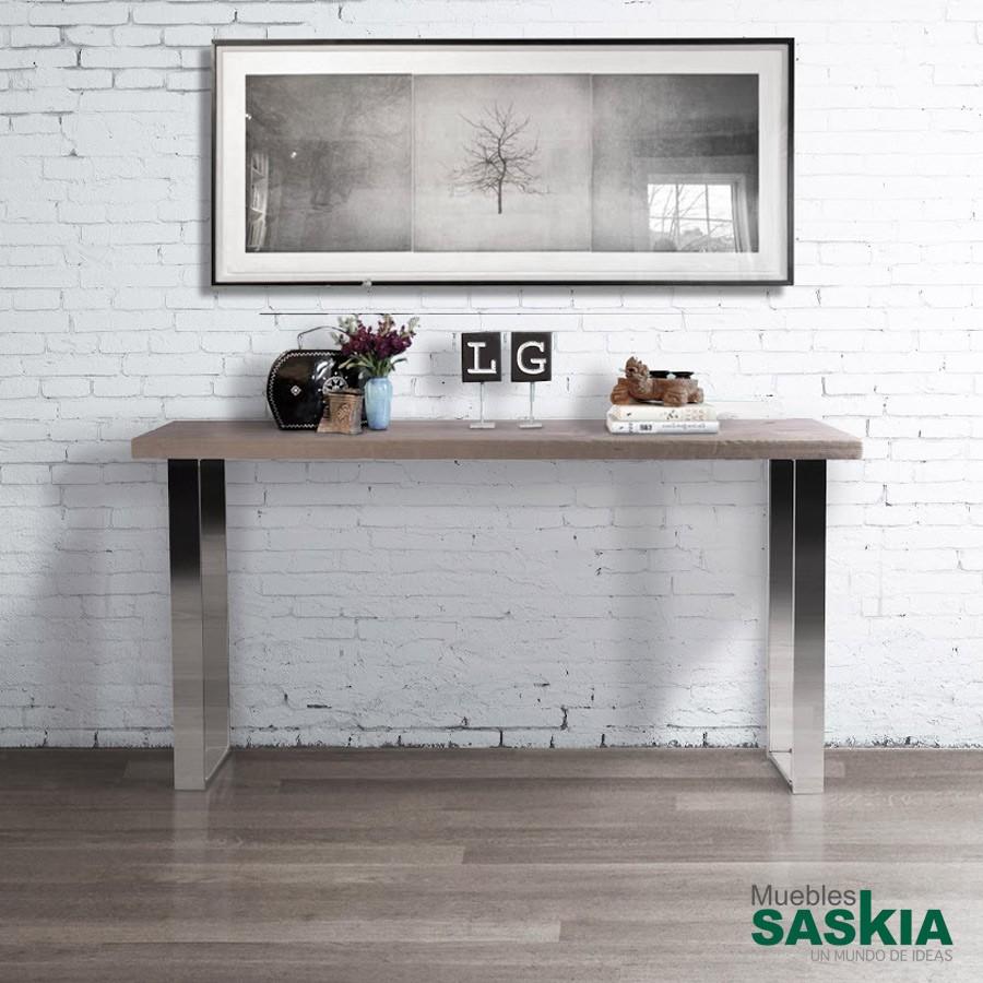 Consola, madera de mobila