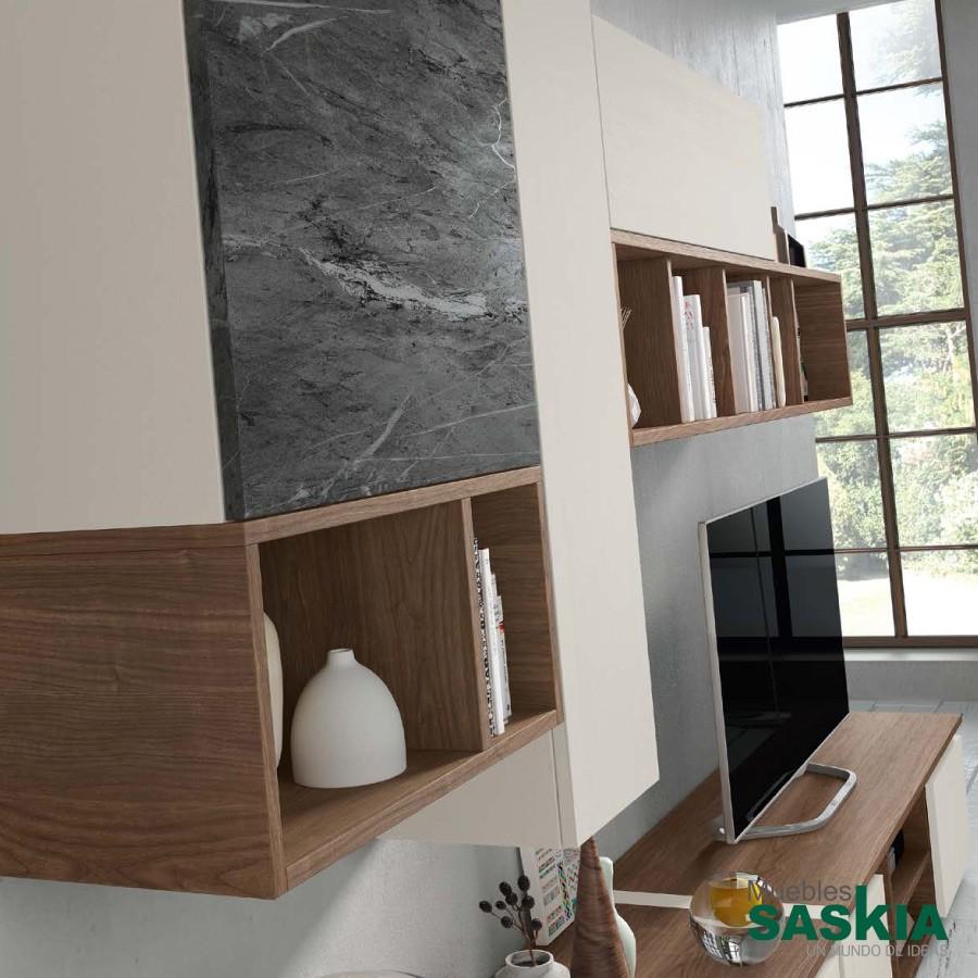 Composición de salón moderno, conjunto liviano