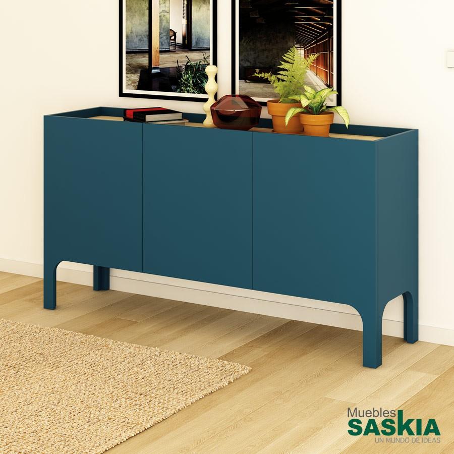 Aparador moderno sin cajones praga ap prg 04 11 muebles - Aparador de comedor ...