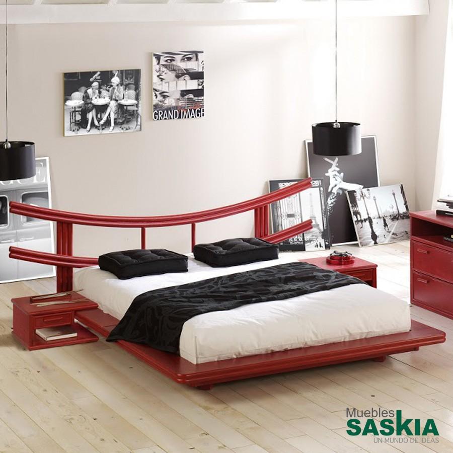 Cabeceros dormitorio muebles saskia en pamplona - Base cama japonesa ...