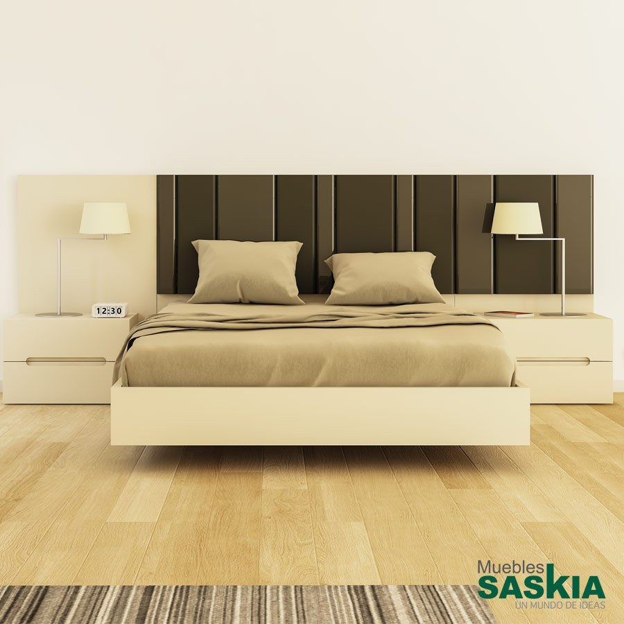 Base de cama moderna