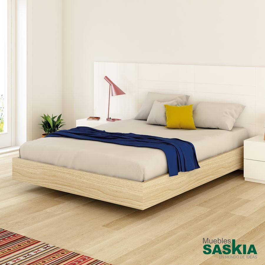 Base de cama con patas ocultas