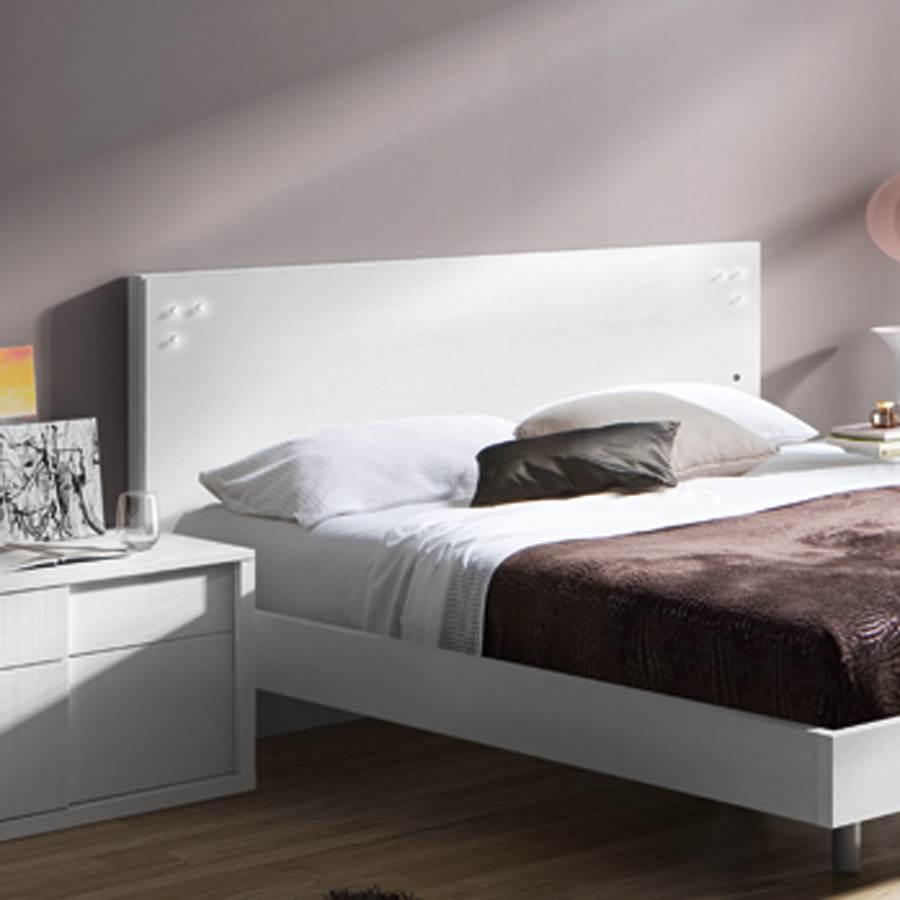 Cabecero friso 1005 p66 muebles saskia en pamplona - Cabeceros de cama blancos ...