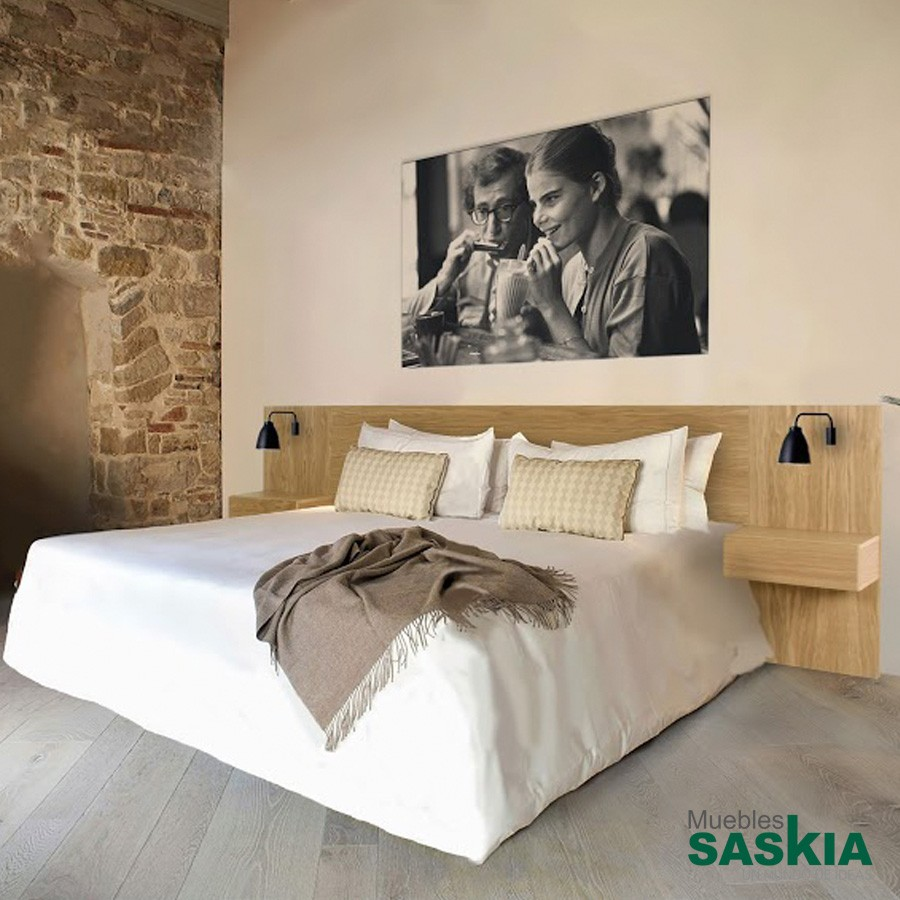 Cabecero manhattan con mesitas 180 5545 4 gober muebles saskia en pamplona - Bancos para dormitorio matrimonio ...