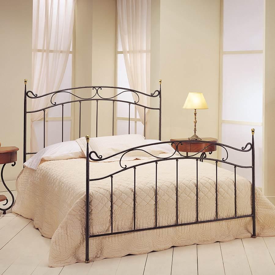 Cama belinda forja natural cama belinda muebles saskia en pamplona - Cabeceros cama de forja ...