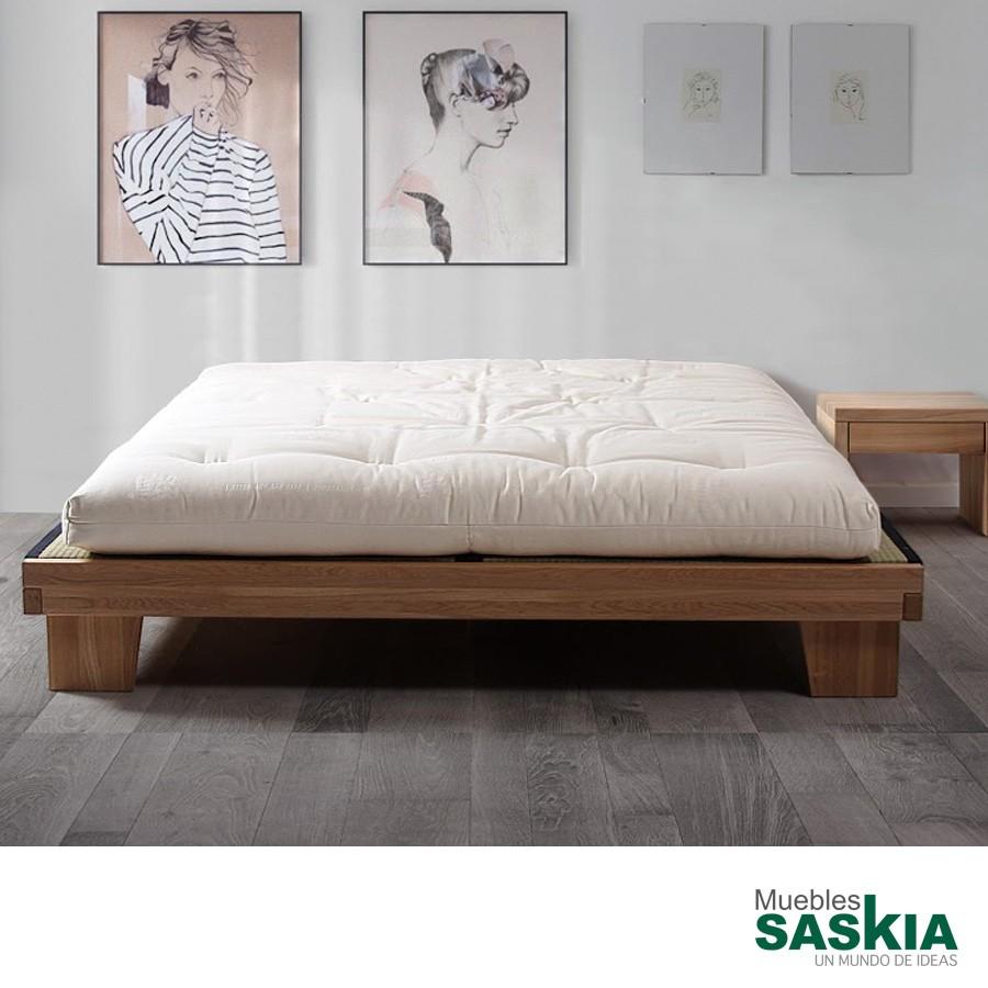 Base de cama Carol 160 x 200 con somier