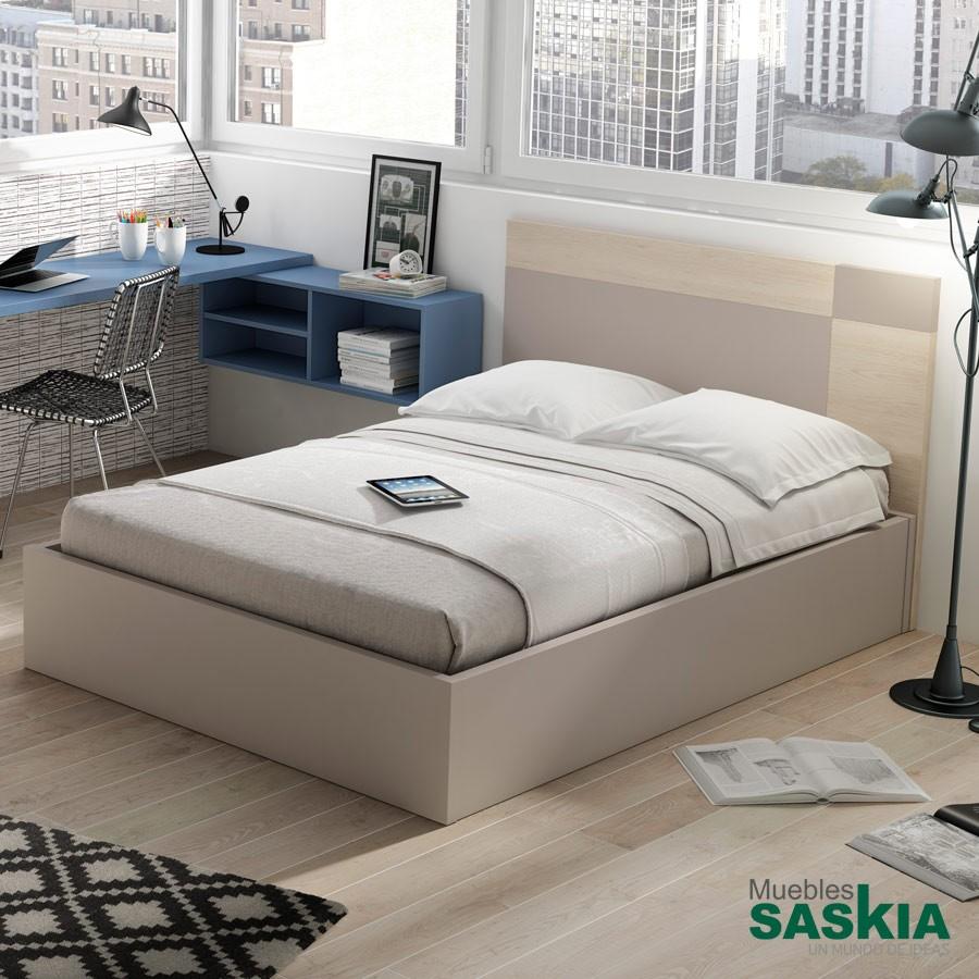 Cama juvenil actual lan mobel 5036 69 muebles saskia en for Actual muebles