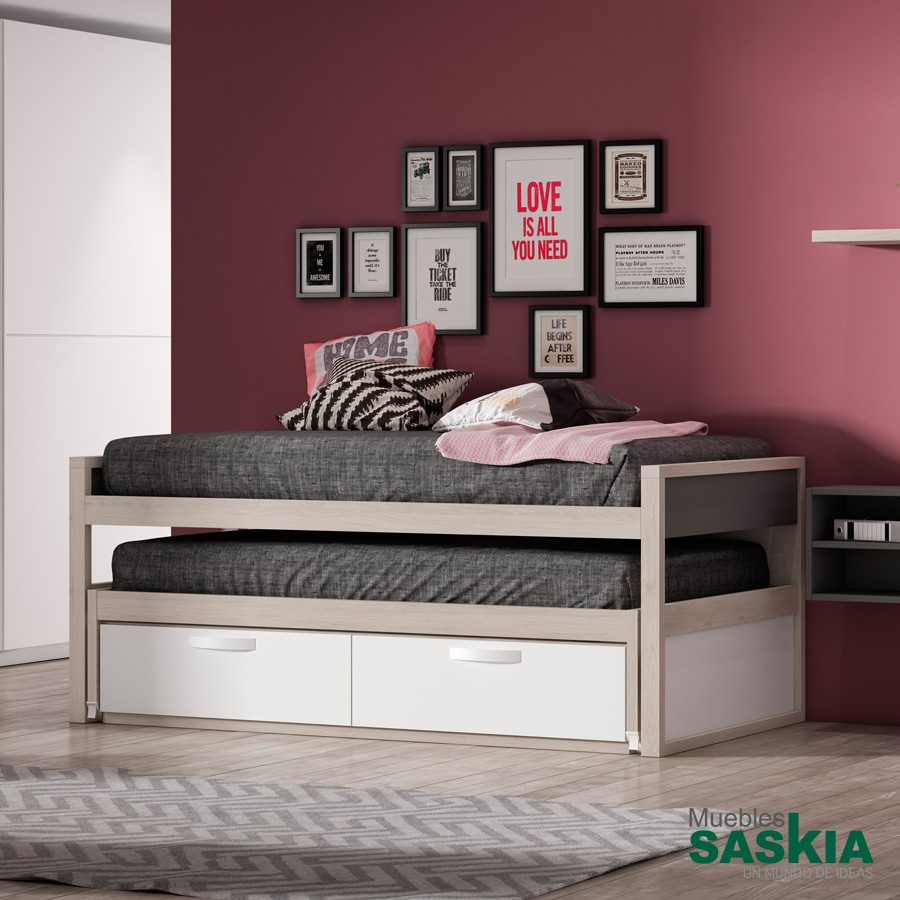 Cama Style con cama desplazable