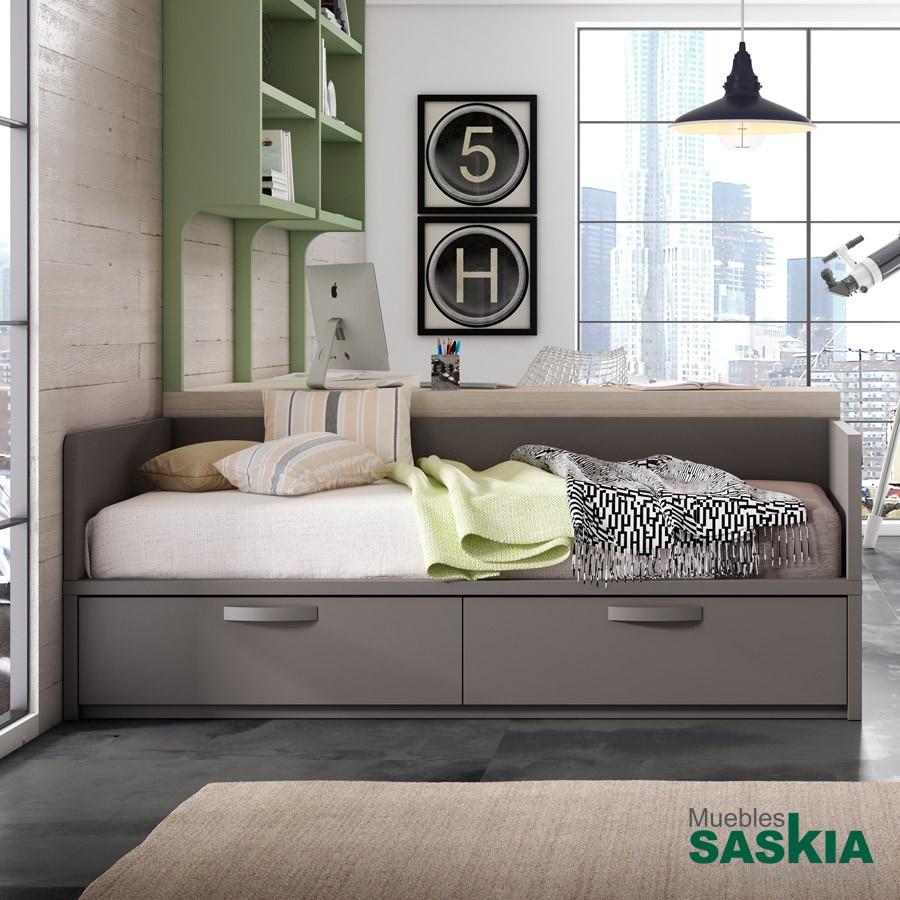 Camas juveniles juvenil muebles saskia en pamplona - Dormitorios juveniles pamplona ...