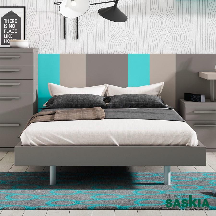 Bancada actual, cama moderna
