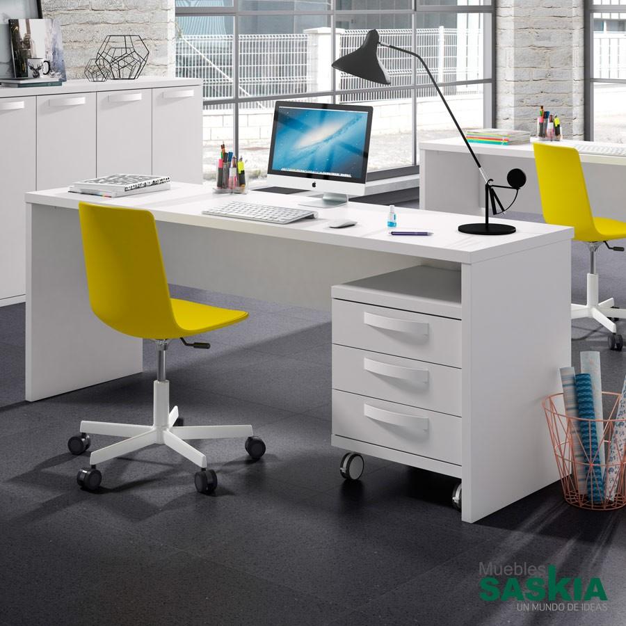 Mesas de estudio juvenil muebles saskia en pamplona - Mesa escritorio juvenil ...