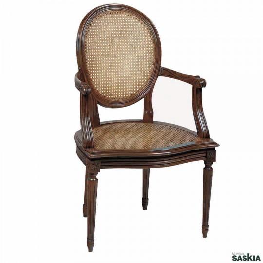 Silla con brazos estilo louis xvi 20 20 muebles saskia - Sillas louis xvi ...