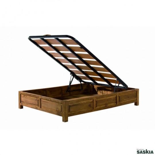 Cama abatible colonial my 28022 my 28022 muebles saskia - Camas estilo colonial ...