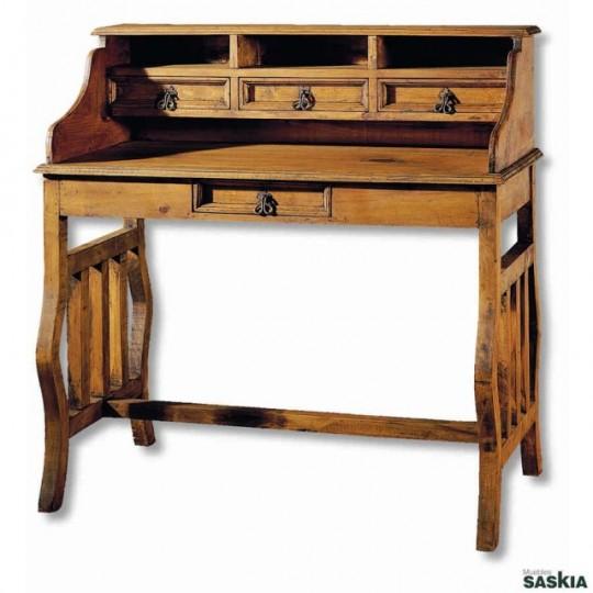 Escritorio colonial my 30004 my 30004 muebles saskia en - Mesa escritorio colonial ...