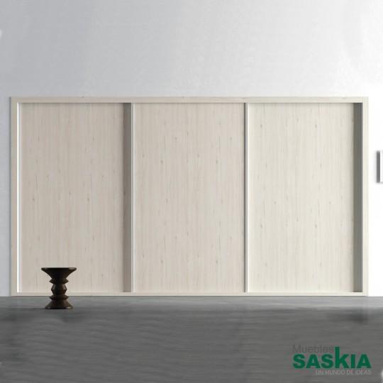 Puertas correderas colgadas, un sistema de apertura muy cómodo y funcional adaptable a todo tipo de espacios y necesidades. Con tapeteado exterior, funcionales, discretas y con muchas posivilidades en acabados. Diseñadas para ahorrar espacio.