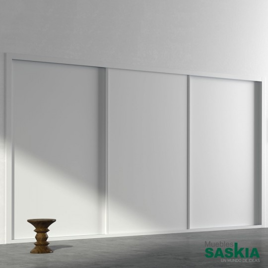 Puertas correderas colgadas, un sistema de apertura muy cómodo y funcional adaptable a todo tipo de espacios y necesidades.