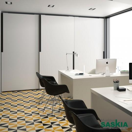 Las puertas correderas Tecto tienen un diseño elegante, lineal y singular. Para todos aquellos que buscan una propuesta exclusiva.