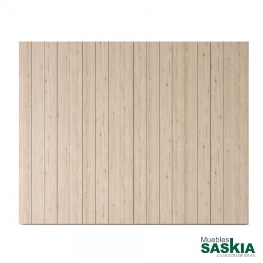 El diseño entablillado de las puertas, con efecto de madera natural, conquistara sentidos. Exclusividad y elegancia.