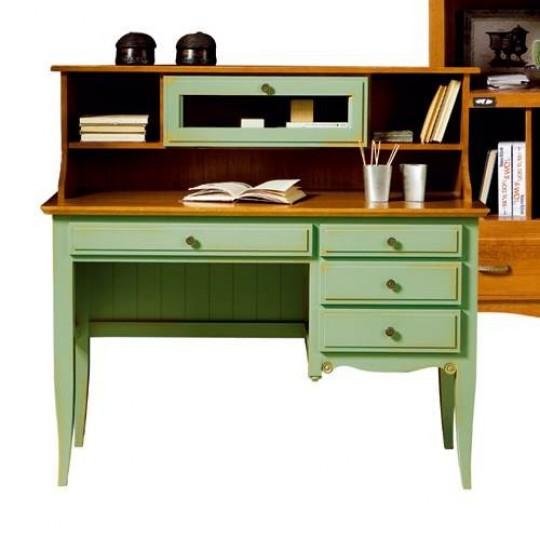 Altillo escritorio juvenil fontana 1958 muebles saskia - Escritorio de pino ...