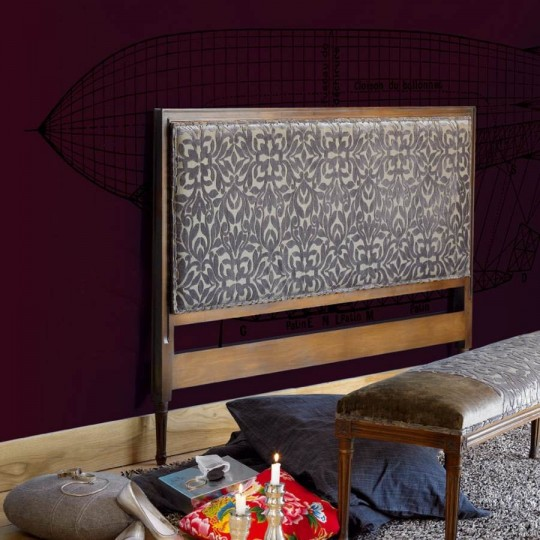 Cabecero de estilo clásico realizado en madera haya