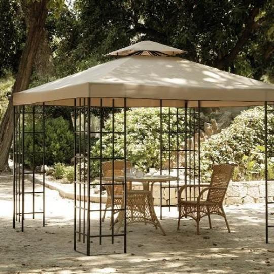 Cenadores cenadores de madera jardin cenador de madera - Cenadores alcampo ...