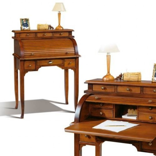 Escritorio bur 3293 muebles saskia en pamplona - Muebles escritorios clasicos ...
