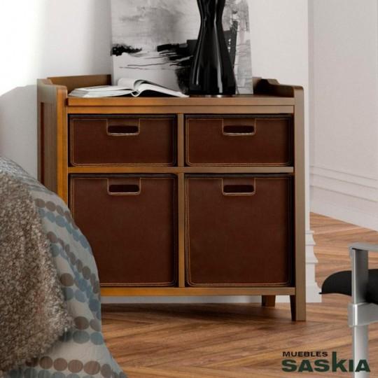 Bajo con estantes verona g7603 muebles saskia en pamplona for Muebles verona