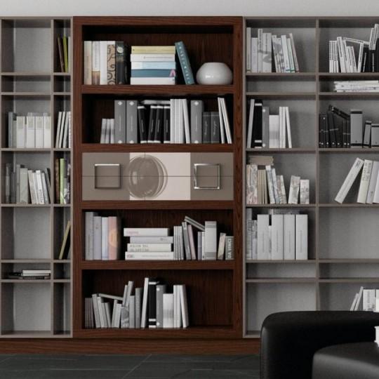 Librer a alta bauhaus 930 z930 muebles saskia en pamplona for Estanteria bano bauhaus