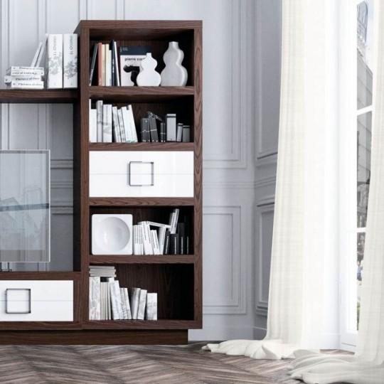 Librer a bauhaus z920 muebles saskia en pamplona for Estanteria bano bauhaus
