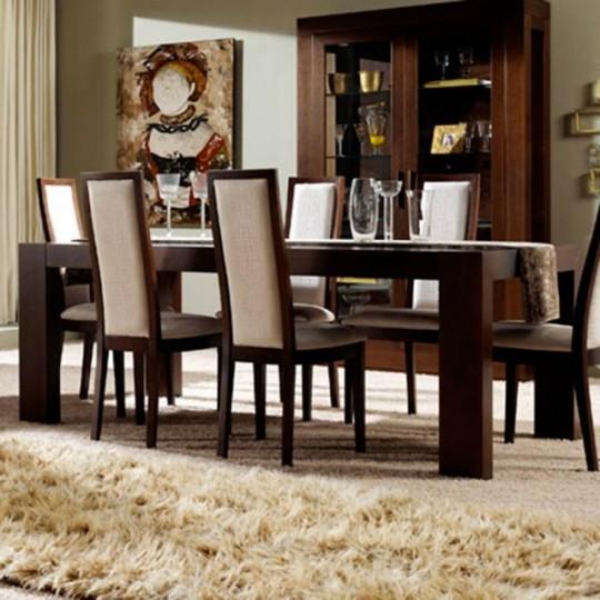 Mesa de comedor duomo 140 muebles saskia en pamplona for Duomo muebles